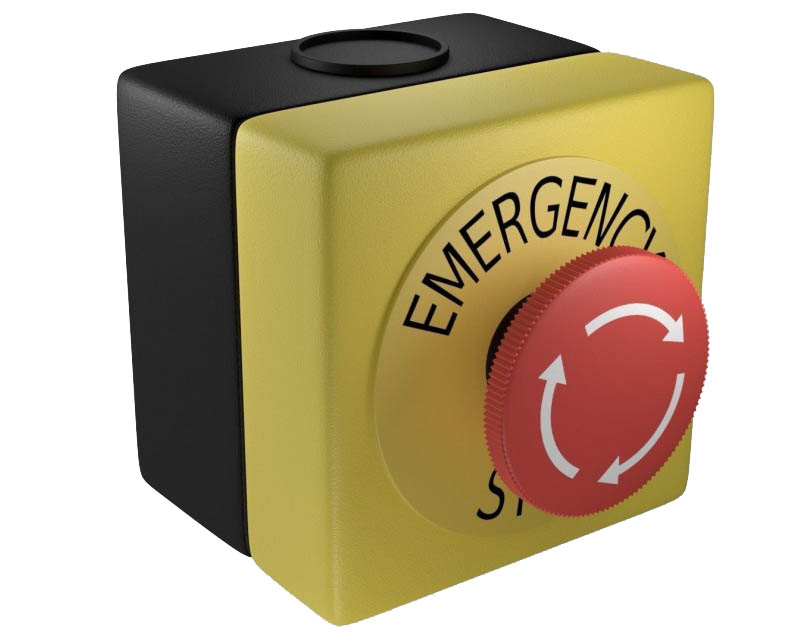 Safety Emergency Boxes 24V Fungo in cassetta